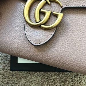 ab148d3a6116 Gucci Bags | Marmont Leather Mini Chain Cross Body Bag | Poshmark